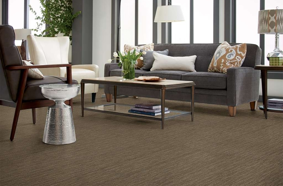 Floorigami Striation Carpet Plank - Twine
