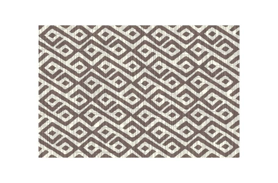 Contours Outdoor Area Rug - Beige/White