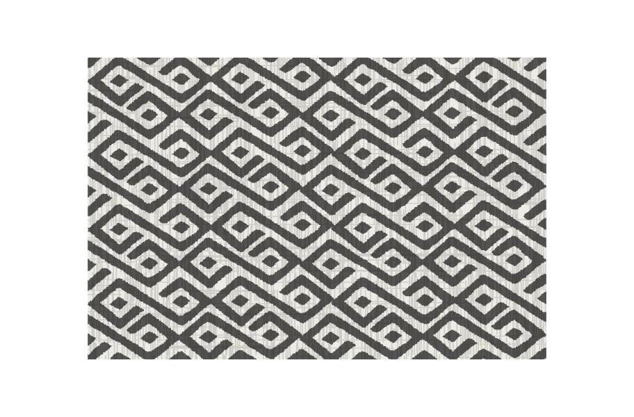 Contours Outdoor Area Rug - Grey/White