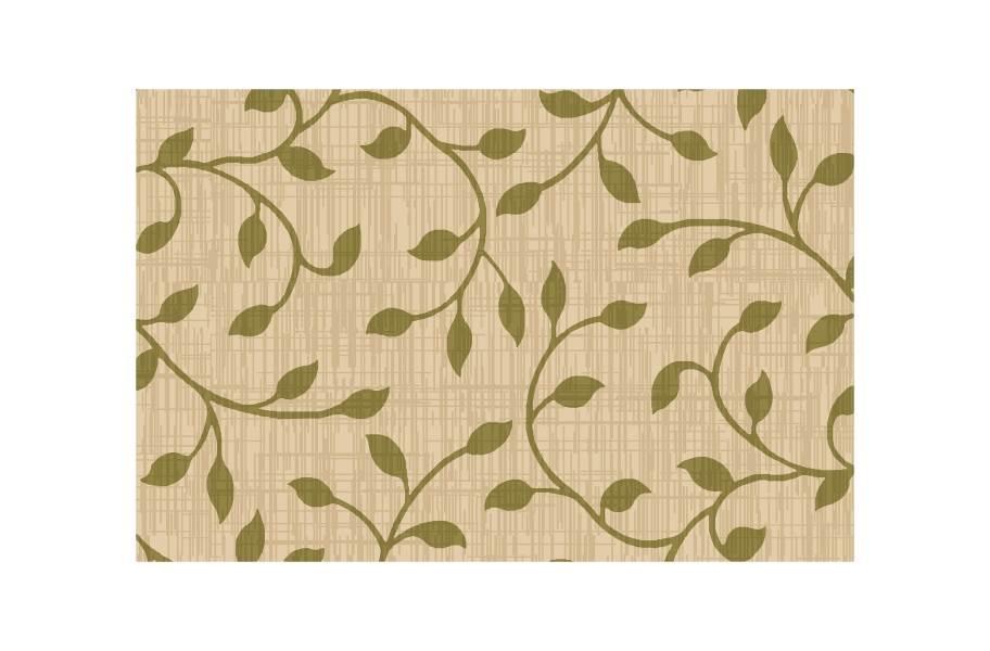 Ivy Outdoor Patio Rugs - Green/Beige