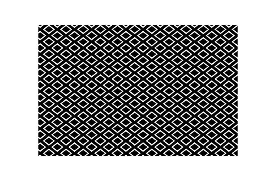 Gemstone Indoor Outdoor Area Rug - Black/White