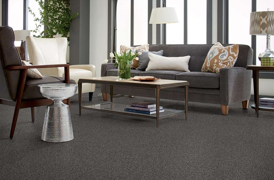 Shaw Floorigami Carpet Diem Carpet Plank - Nightfall