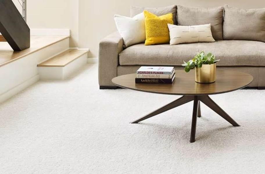 Shaw Floorigami Carpet Diem Carpet Plank - Snow Kissed