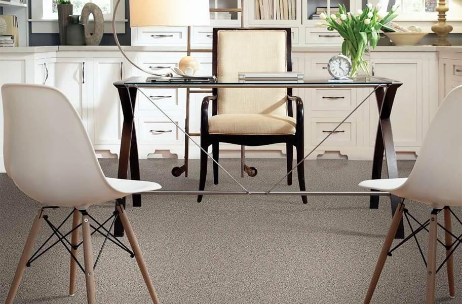 Shaw Floorigami Carpet Diem Carpet Plank - Cozy Taupe