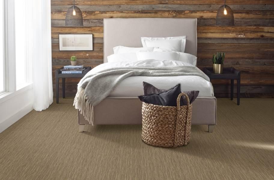 Shaw Floorigami Striation Carpet Plank - Twine