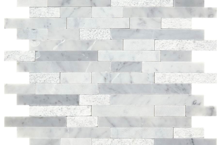 Daltile Minute Mosaix - White Carrara Linear