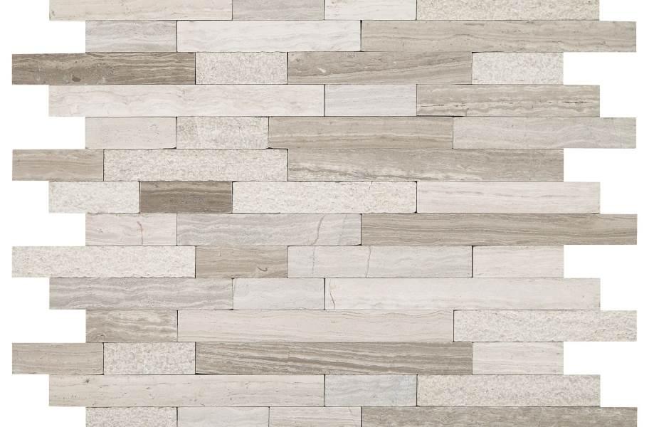 Daltile Minute Mosaix - Chenille White Linear