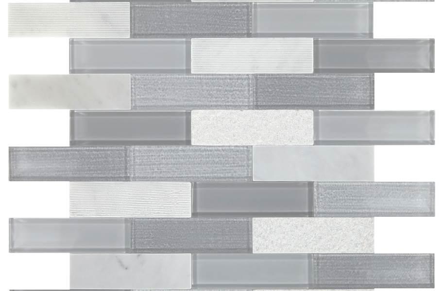 Daltile SimplyStick Mosaix - Stormy Mist Brick Joint