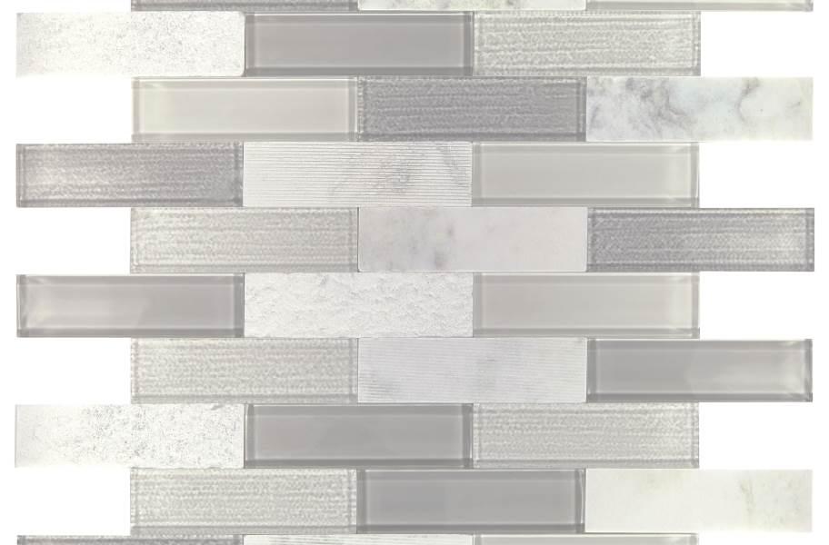 Daltile SimplyStick Mosaix - Daphne White Brick Join