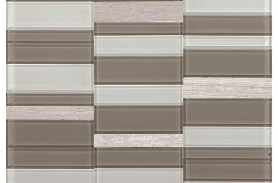 Daltile SimplyStick Mosaix - Chenille White Stack