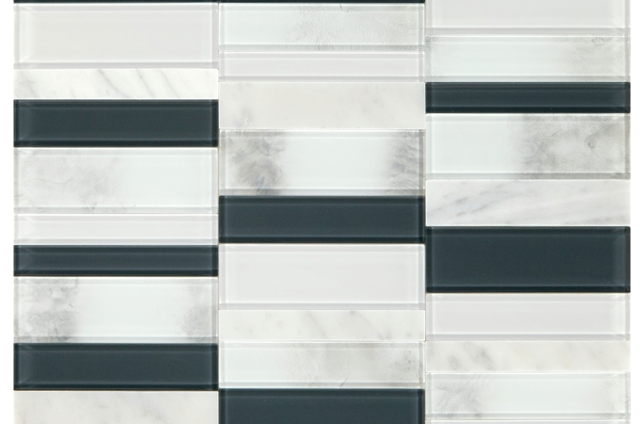 Daltile SimplyStick Mosaix - Carrara White Stack