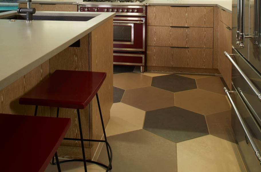 Daltile Bee Hive - Ivory, Taupe, Ash Grey, Grey