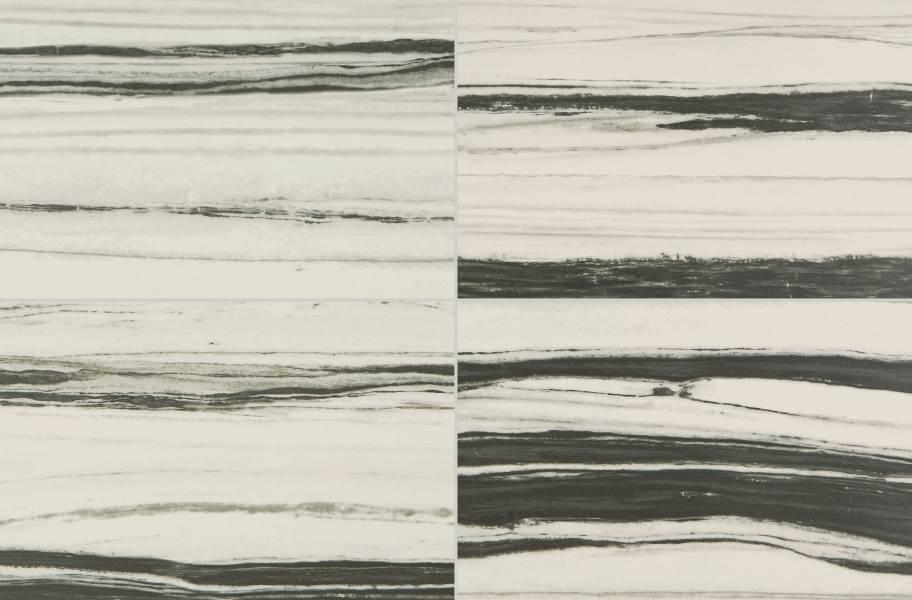 Daltile Vertuo - Stria Bravura (4 tiles shown)
