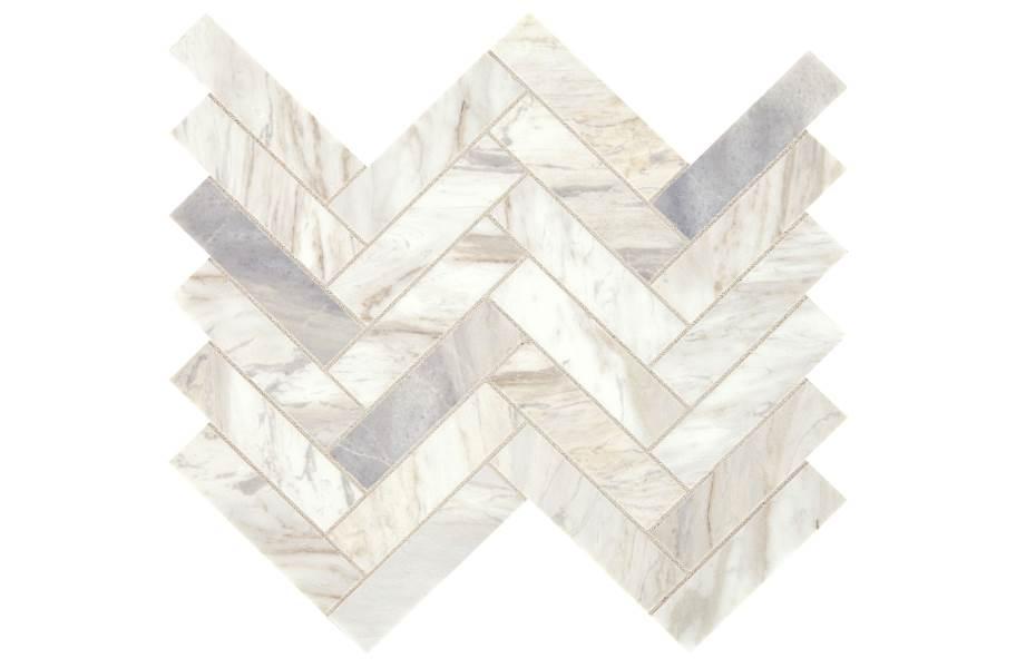 Daltile Sublimity Mosaic - Namaste Herringbone