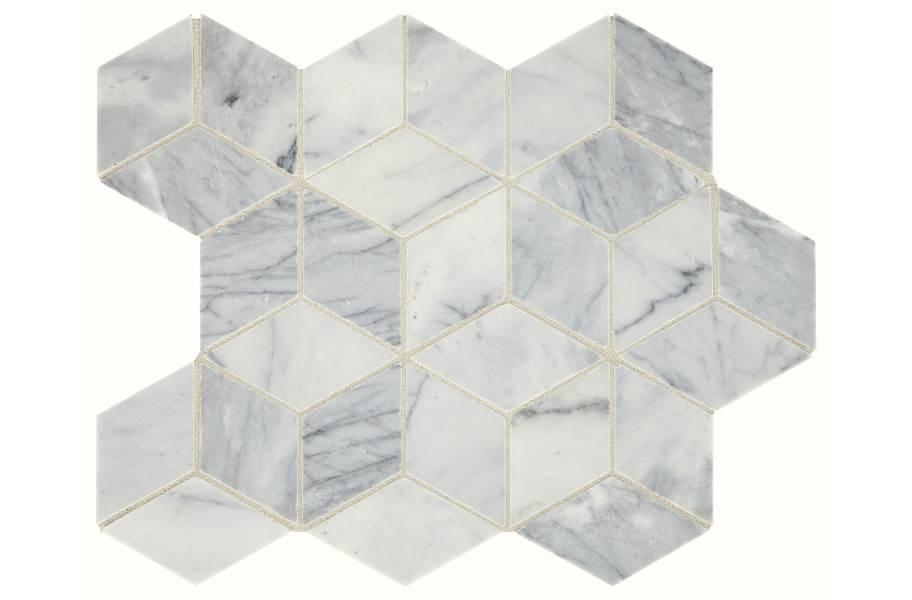 Daltile Sublimity Mosaic - Cirrus Storm Cubist
