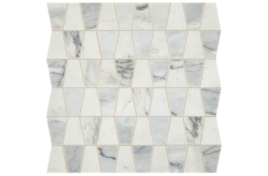 Daltile Sublimity Mosaic - Cirrus Storm Trapezoid