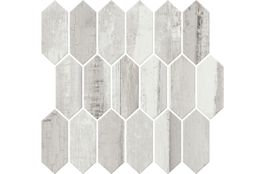 Daltile Cinematic Mosaic - Romantic White
