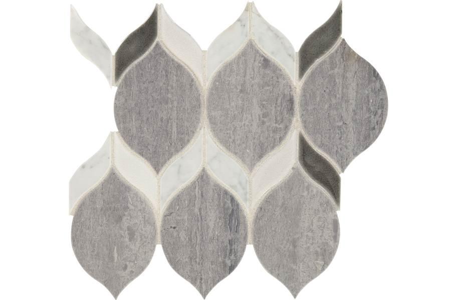 Daltile Fonte Mosaic - Heather Harbor Double Leaf