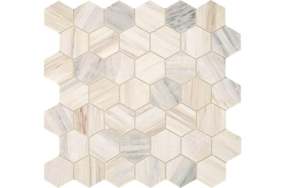 Daltile Fonte Mosaic - Pier White 2