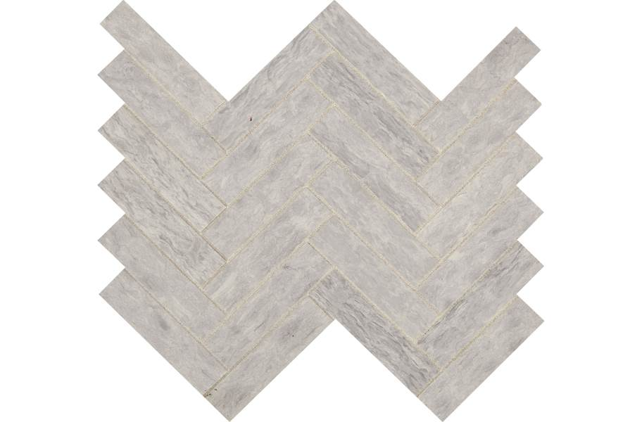 Daltile Fonte Mosaic - Heather Harbor Herringbone