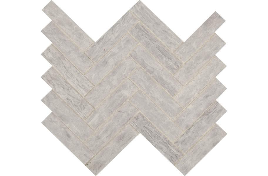 Daltile Fonte Mosaic - Heather Harbor Herringbone