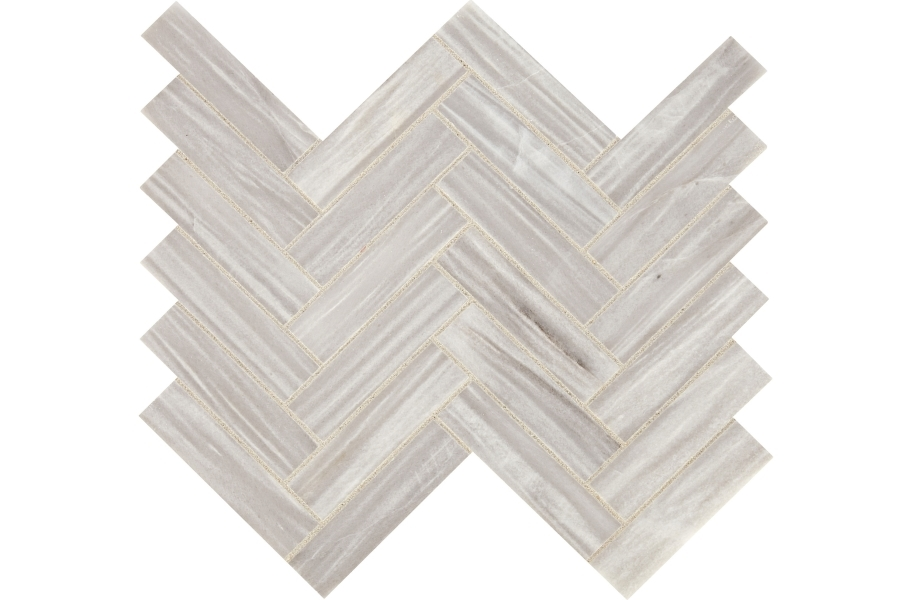 Daltile Fonte Mosaic - Nautical Grey Herringbone