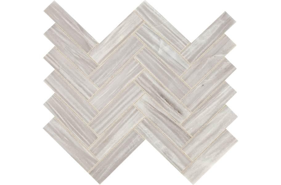 Daltile Fonte Mosaic - Nautical Grey Herringbone