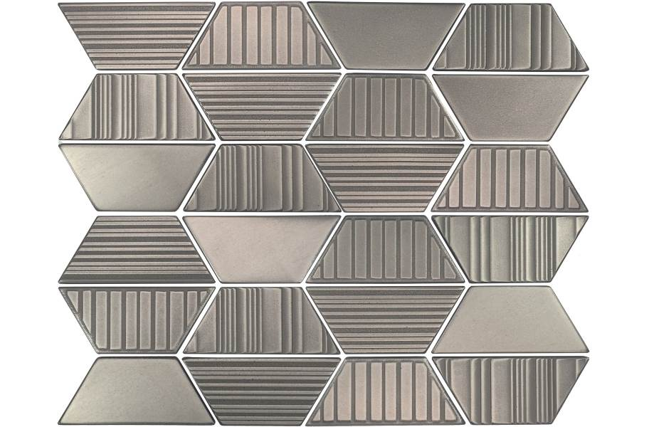 Daltile Industrial Metals - Stainless Trapezoid