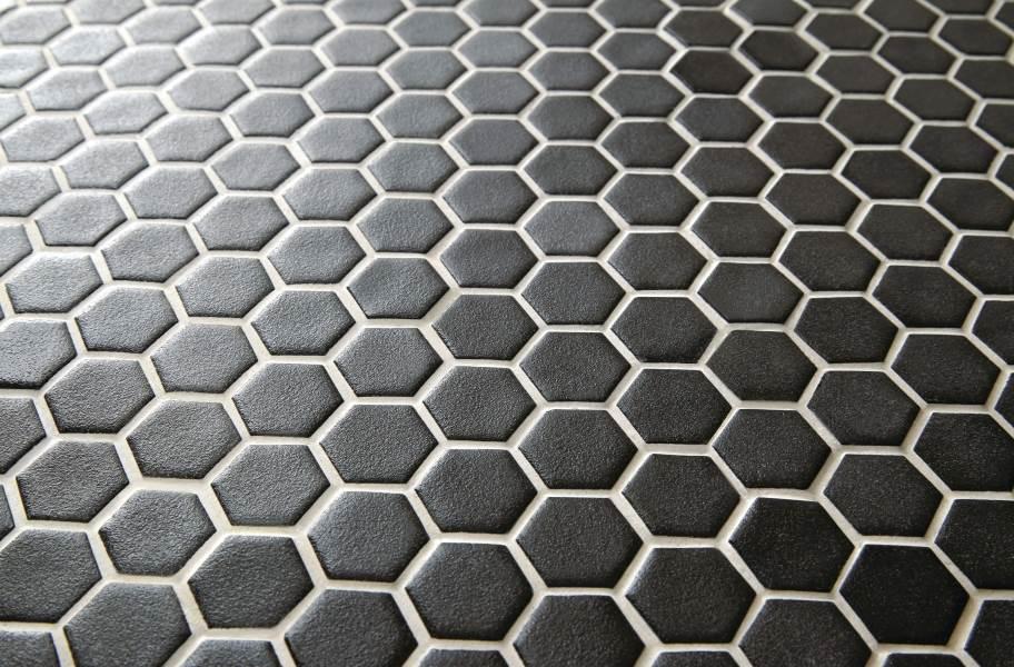 Daltile Uptown Glass Mosaic - Matte Ebony