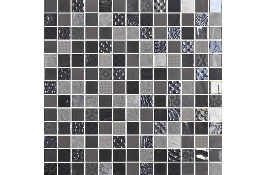 Daltile Uptown Glass Mosaic - Metro Gray