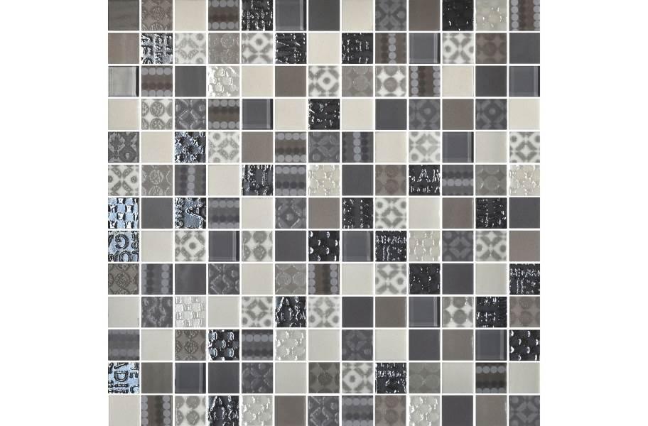 Daltile Uptown Glass Mosaic - Metro Taupe