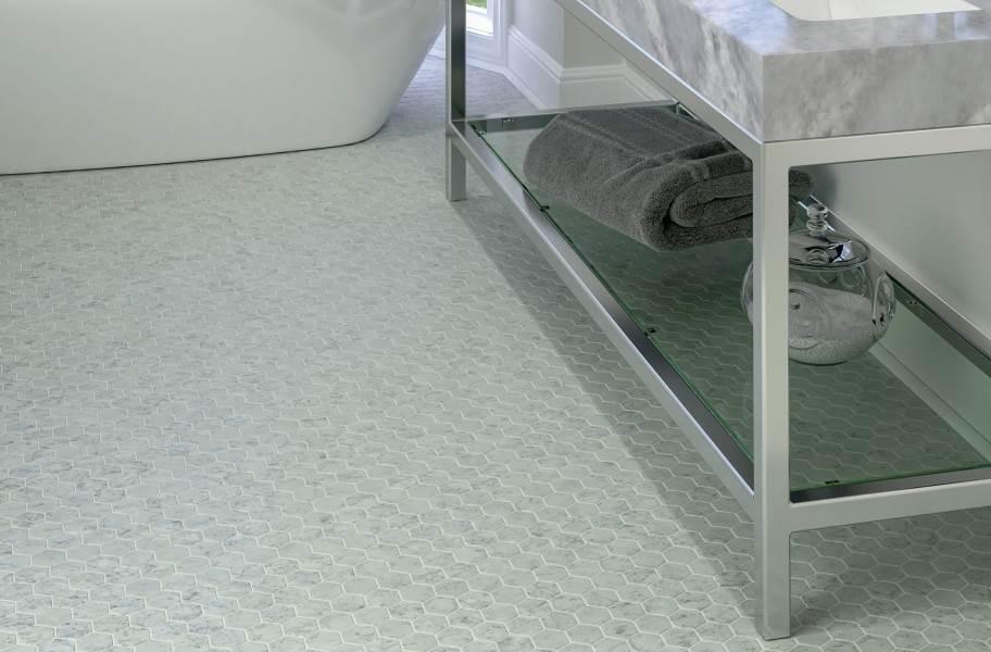 Daltile Uptown Glass Mosaic - Carrara