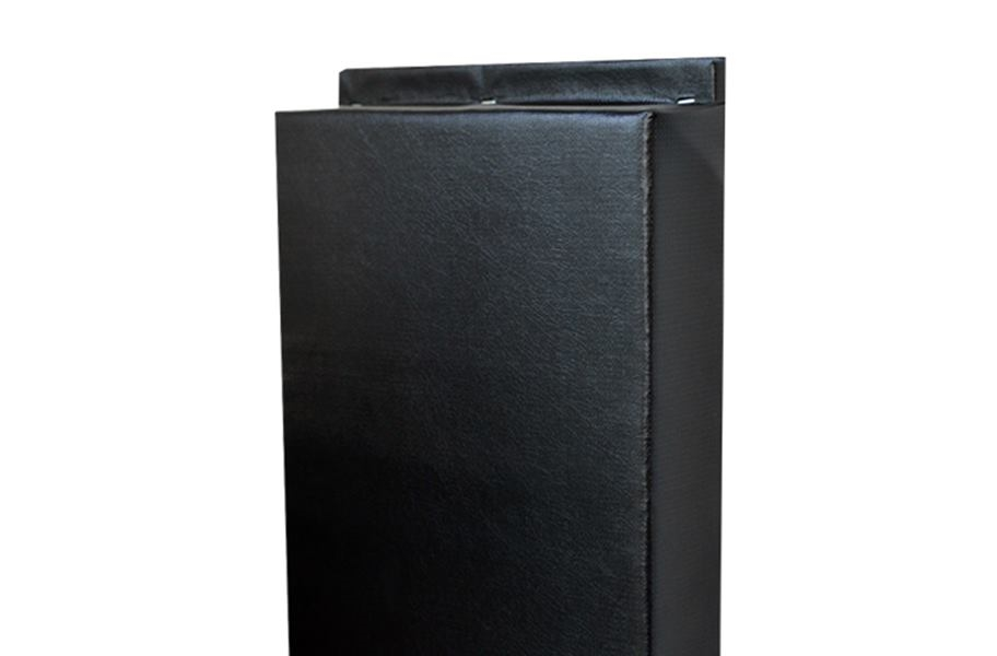 2' x 8' Wall Pads - Black