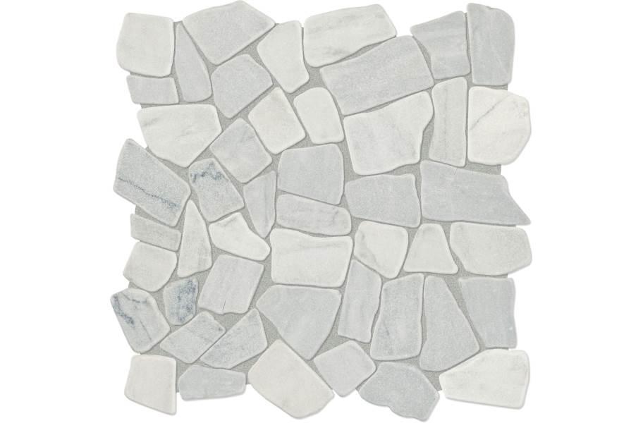 Daltile Raine Mosaic - Pebble Cirrus Storm Blend