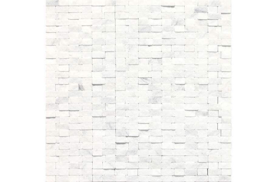 Daltile Stone A' La Mod Mosaic - Contempo White Random Brick Joint