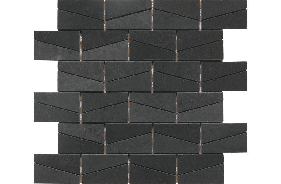 Daltile Stone A' La Mod Mosaic - Urban Bluestone Wedge