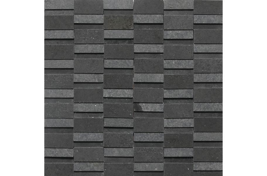 Daltile Stone A' La Mod Mosaic - Urban Bluestone High-Low Random