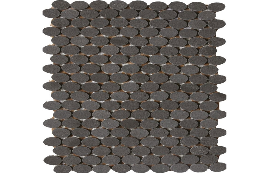 Daltile Stone A' La Mod Mosaic - Urban Bluestone Oval