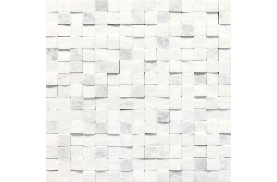 Daltile Stone A' La Mod Mosaic - Contempo White High-Low