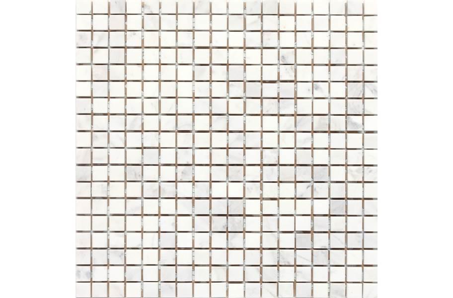Daltile Stone A' La Mod Mosaic - Contempo White Square