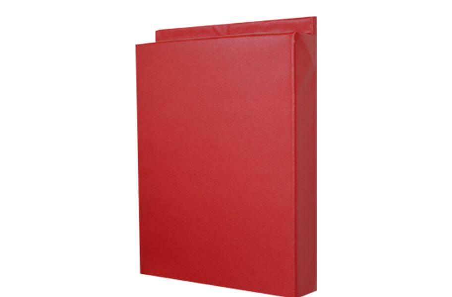 4'-Tall Wall Padding - Red