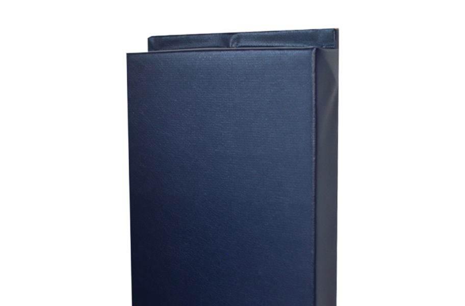 4'-Tall Wall Padding - Navy Blue