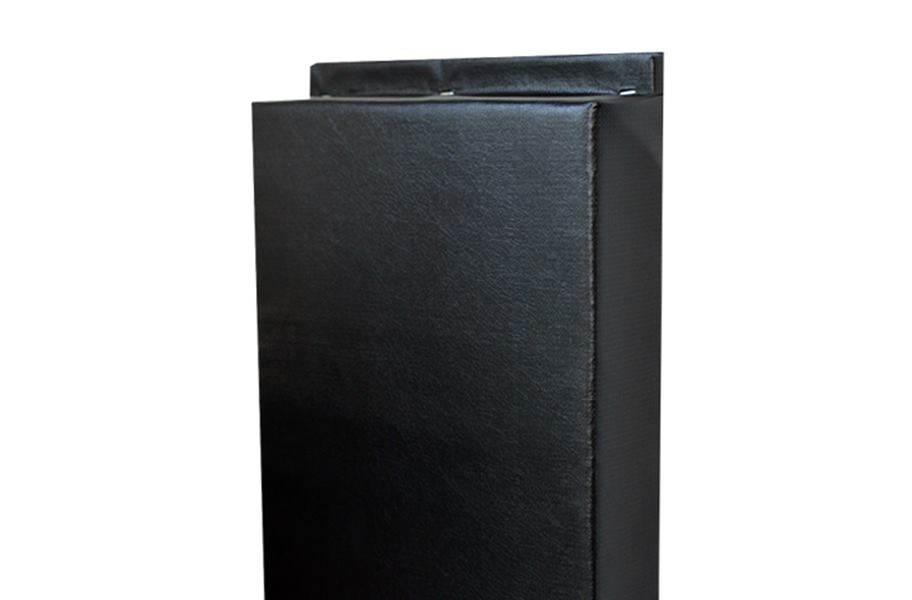 4'-Tall Wall Padding - Black