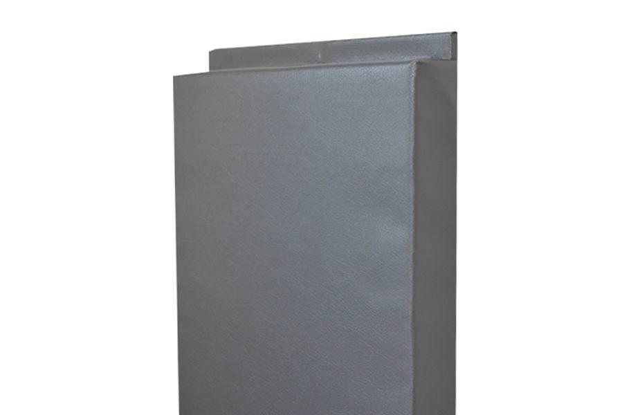 4'-Tall Wall Padding - Gray