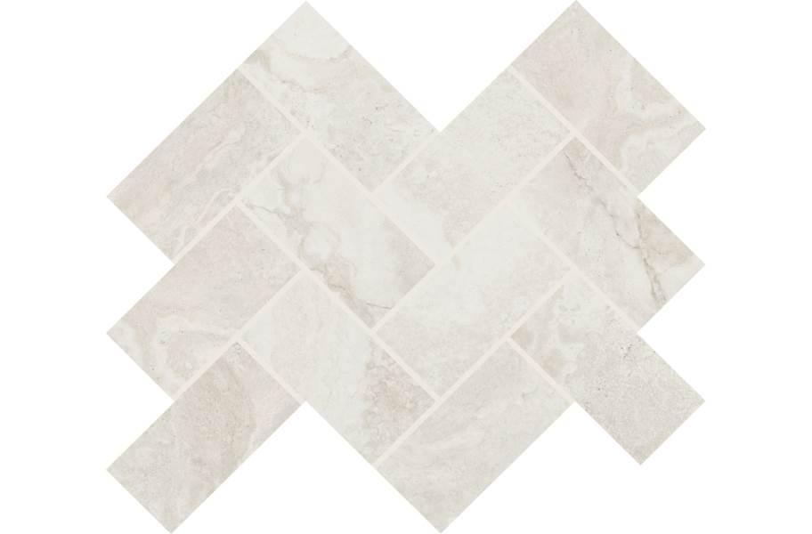 Daltile Archaia Mosaic - Relic White
