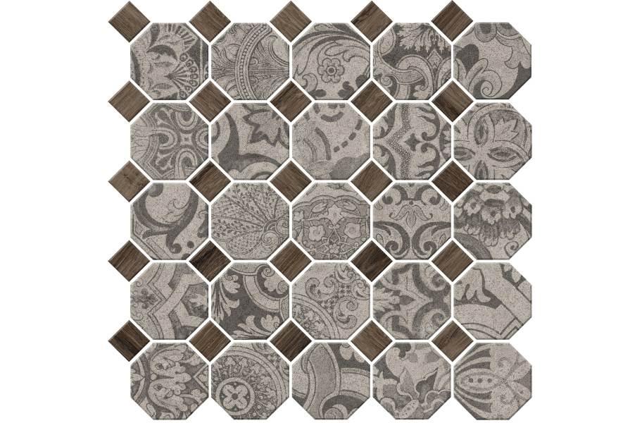 Daltile Rhetoric Mosaic - Eloquent Grey Mosaic