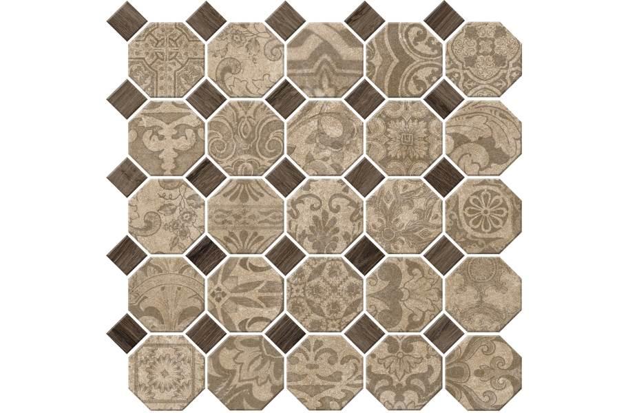 Daltile Rhetoric Mosaic - Philosopher Beige Mosaic