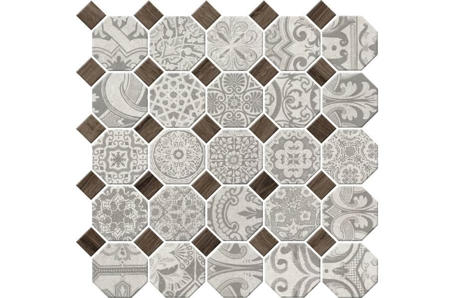Daltile Rhetoric Mosaic - Aristotle White Mosaic