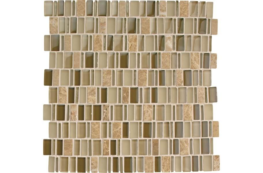 Daltile Clio Glass Mosaic - Selene