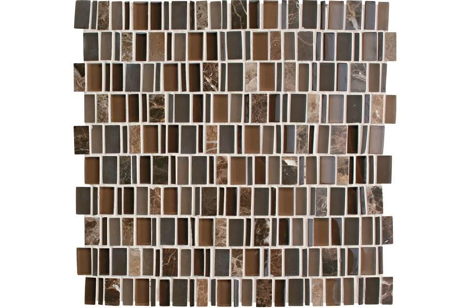 Daltile Clio Glass Mosaic - Eos